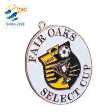 Medalha militar do zinco da liga de zinco do costume antigo da liga do zinco 3D