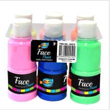 Конкурентоспособная цена 6 цветов дети Арт набор для набор для рисования пальцами пальчиковые краски краска моющаяся краска моющаяся для детей