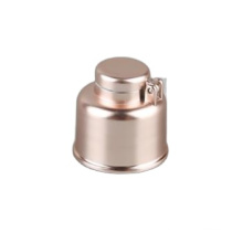 Gold UV 24/410 Cosmetic Plastic Screw Flip Top Cap For Lotion Shampoo Bottle
