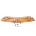 colgador de ropa de madera para niños