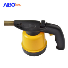 Self-ignition flame gas lighter mapp blow torch for kitchen usage