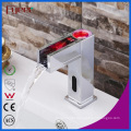 Hydro Power Waterfall Automatic Sensor Faucet with LED