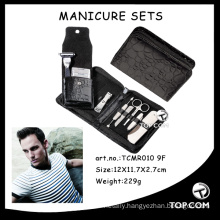 cheap and fine mens manicure set/set manicure