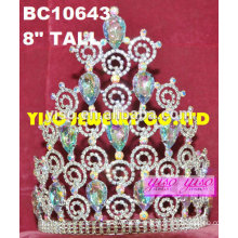 elegant fashion birthday tiaras for adults ab crystal tiaras