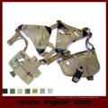 Pistola ajustável militar tático ombro arma coldre bolsa revista com fecho em Velcro