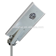 Factory Wholesale All In One solar street light 12W