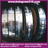 hot stamping hologram sticker