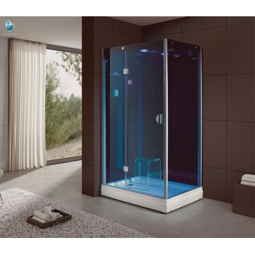 Sala de vapor completa de la sauna del sitio de la sauna de la cabina de la ducha del masaje para la venta
