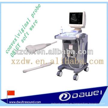 Dispositivo Ultrasónico Dignostic Médico Trolley