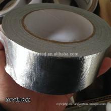Hoja de aluminio Cinta de sellado térmico, material reflectante y de plata para techos