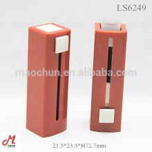 LS6074 Design allégé carré push up open cosmmetic lipstick tube d'emballage