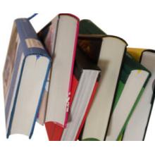 Impression de livre à couverture rigide arrondie et à dos carré