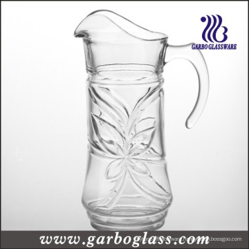High Quality Carving Glass Pitcher (GB1115SYC)