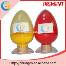 Cheapest Pigment Yellow 13 fluorescent powder paint pigment