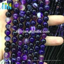Großhandel 4/6/8/10 / 12mm Natürliche Edelsteine Steine Perlen Schmuck Machen Steine Perlen