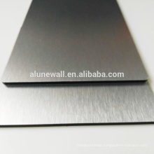 Brushed aluminum composite panel acp wall cladding decorative panels