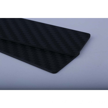 Maat 2,5 mm carbon composiet mat twill-composiet