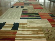 Modern 100% Nylon Splice Custom Printed Carpet For Hotel Public Area , Floor Mat