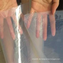 Transparente weiße Hochtemperatur-Silikonkautschukfolie
