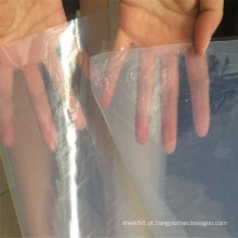 Folha de borracha de silicone de alta temperatura branca transparente