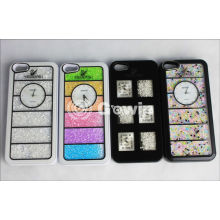 Custom Personalised Mobile Phone Cases With Colorful Bling Diamond