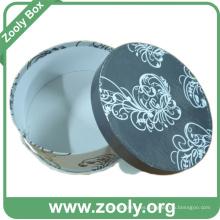 Impreso Ronda caja de regalo recuerdo / Hatbox papel decorativo