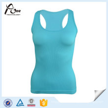100% polyester Dri Fit Wicking Lagy Gym Singulet