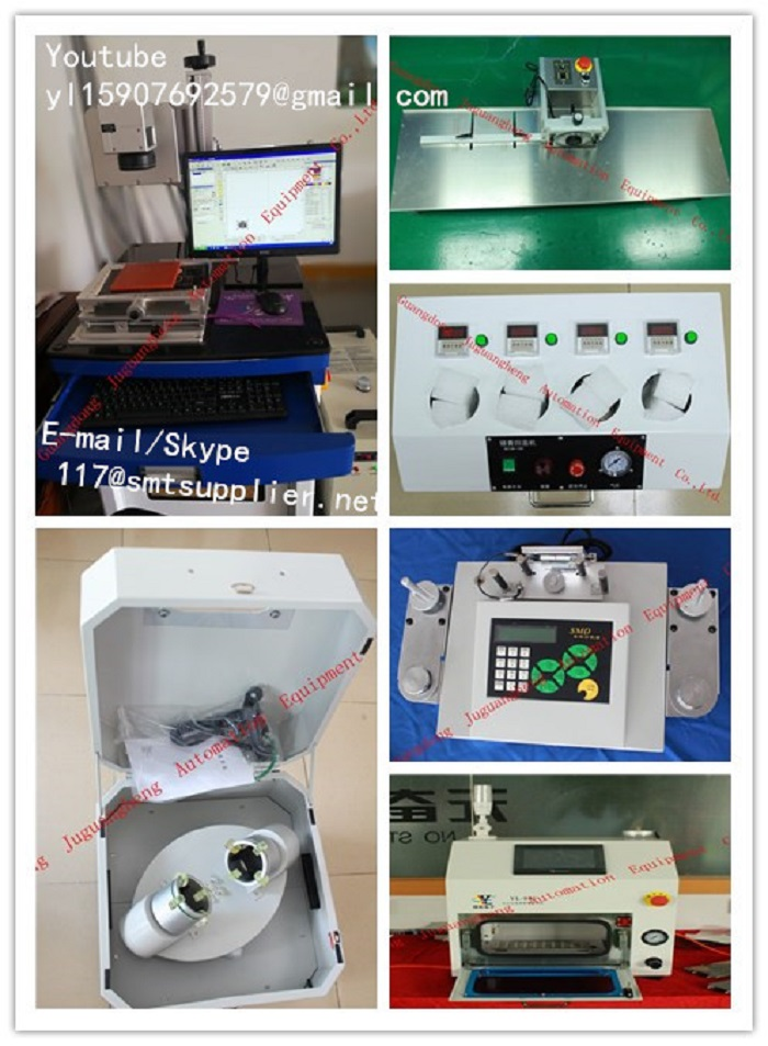 (j1)Solder paste temperature back machine,SMD Component Counter,nozzle cleaning machine