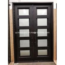 Anti-Rust Smooth Finish Aluminium Door