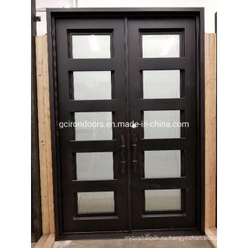 Антикоррозийная гладкая алюминиевая дверь