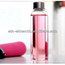 Melhor venda de produto claro garrafa de água por atacado