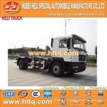 SHACMAN caminhão de lixo hidráulico aolong 4x2 10 m3 fábrica de venda quente preço baixo direto