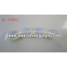 Genuine Gemstone Opal Glass beads