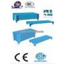 JQ4029 cama de dobramento plástica da cama da pilha dos miúdos baratos venda venda