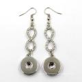 Fashion Crystal Stud Earrings Women Jewelry Stainless Steel Button Earring