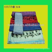 OEM 2011 newest style 2ways orange long fahion lady silk scarf shawl