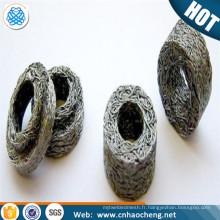 Joints tricotés compressés de grillage / garniture en métal de tricot pour le blindage d'EMI / RFI