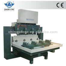 JK-4080 multi-head CNC Router with 4 rotary for wood working