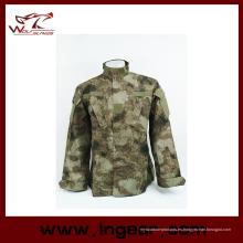 Ejército alemán Woodland Camo traje Acu Bdu camuflaje militar traje establece CS combate táctico Paintball uniforme chaqueta y pantalones