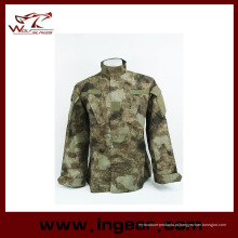 Exército alemão da floresta Camo terno Acu Bdu camuflagem militar define CS combate tático Paintball uniforme jaqueta e calça