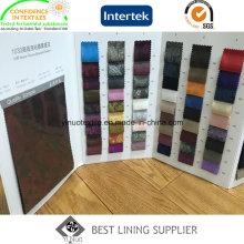 55% Polyester 45% Viskose Klassisches Muster Herrenanzug Jacquard Futterstoff Ready Stock