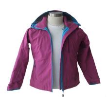 Womens Waterproof Hooded Softshell Jacket