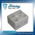TC-152-A High Temperature 600V 15A 2 Way Porcelain Terminal Block