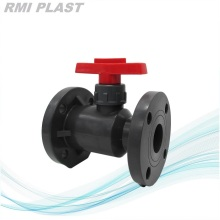 Flanged PVC Ball Valve BS4504