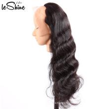 Pelucas delanteras del cordón del pelo humano con flequillo