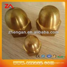 brass DIN981 cap nut M30