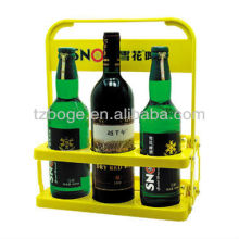 6 bottle plastic beer handle basket mould