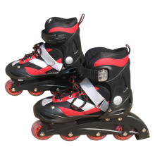 Roller Skate Red and Black Inline