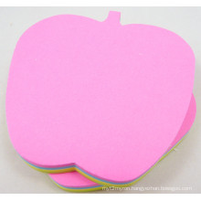 Shaped 3X3inch (memo pad) Sticky Note Neon