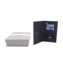 Modern design romantic led Proposal ring box,Photo and video display gift box with USB